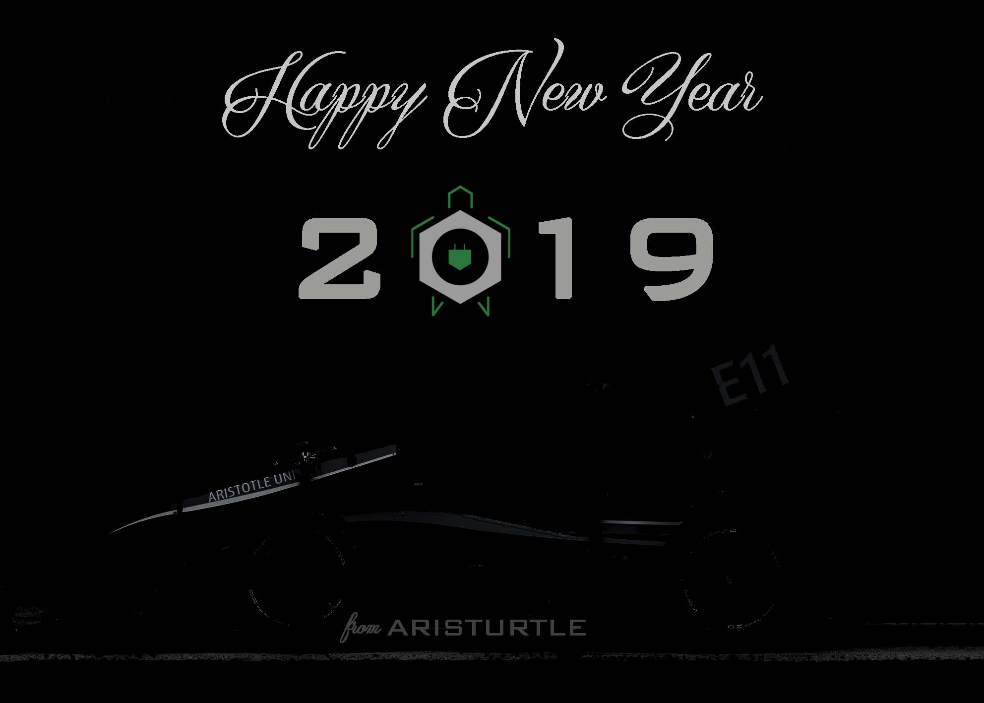 Aristurtle wishes you a Happy New Year!