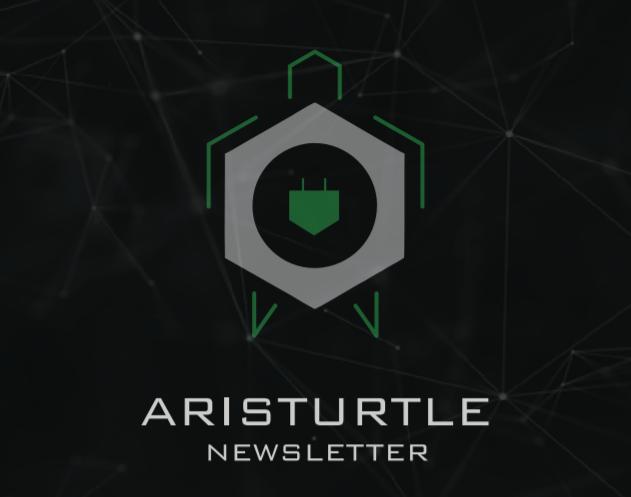 Aristurtle's Newsletter – December 2018